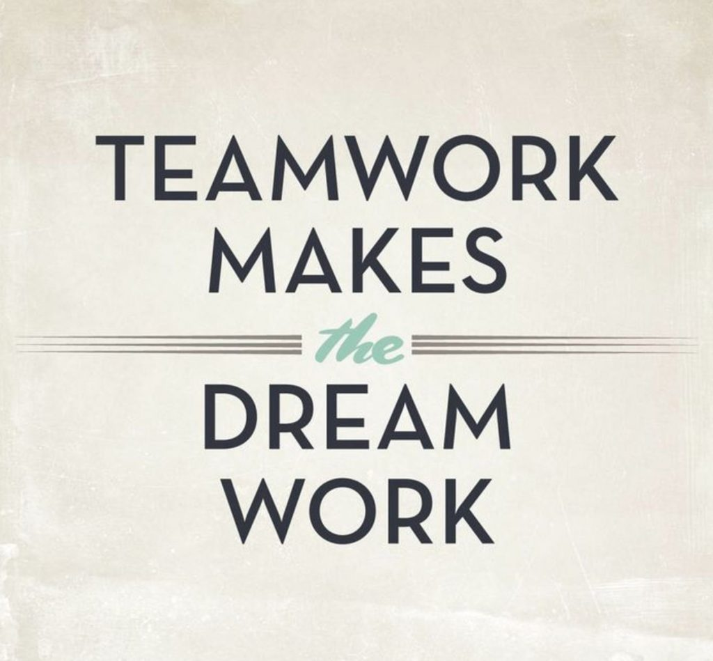 Teamwork Makes the Dreamwork