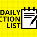daily action list