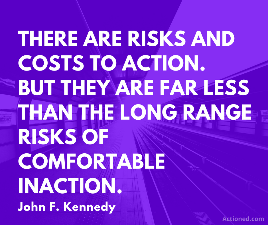 productivity quote john f kennedy