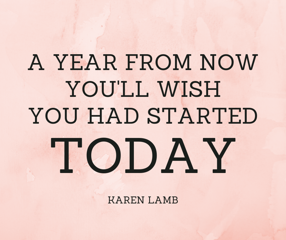 productivity quote karen lamb
