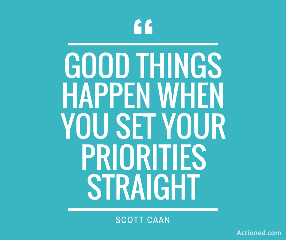 productivity quotes priorities
