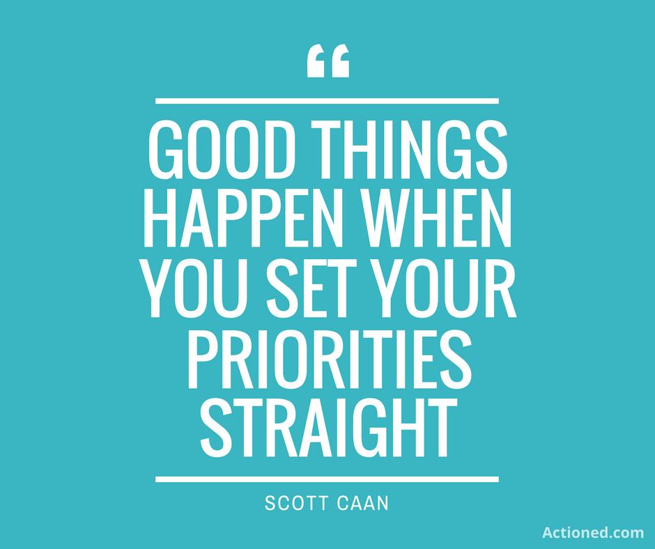 productivity quotes priorities
