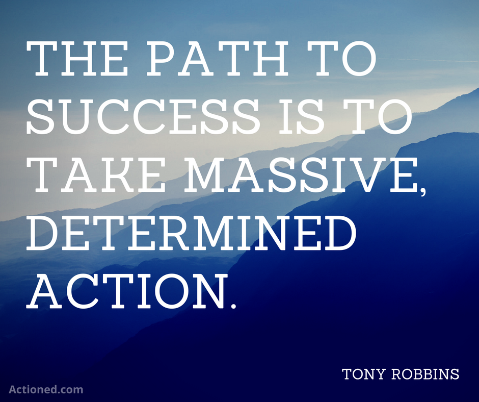 productivity quote tony robbins