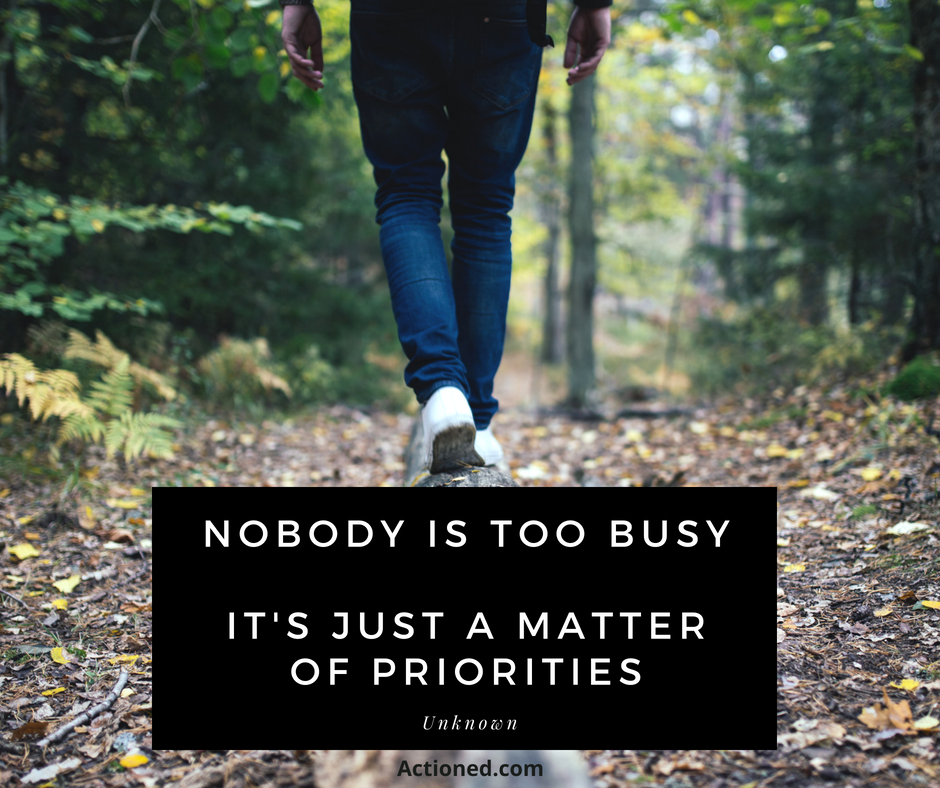 productivity quote too busy