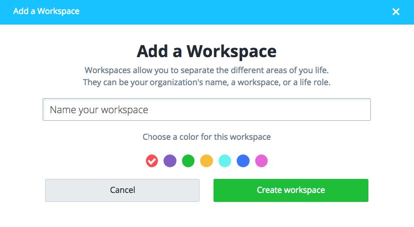 Add workspace