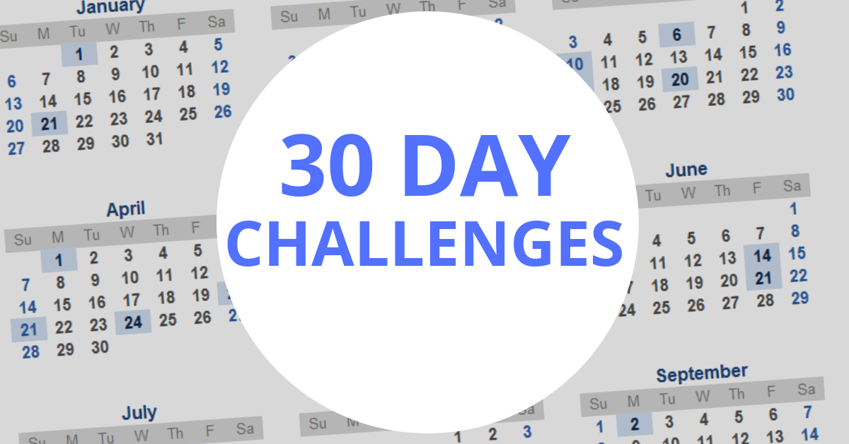 goal setting 30 day challenge
