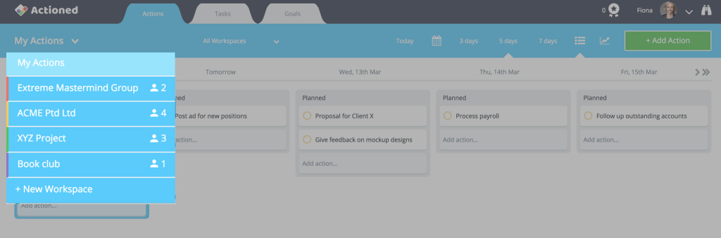 Trello Alternatives Actioned Workspaces
