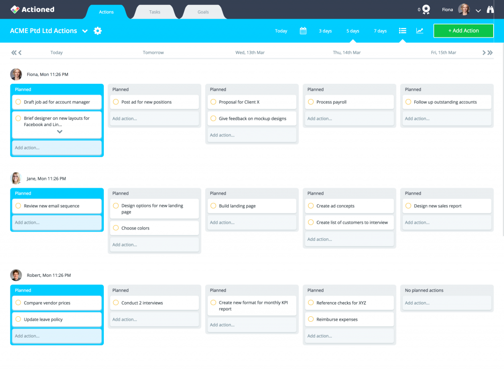 Trello alternatives team view